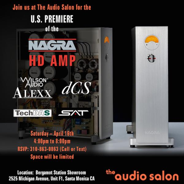 Audio Salon Event This Weekend in Santa Monica, CA