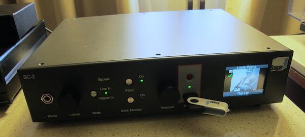 Sweet Vinyl's Dan Eakins Demonstrates the Sugarcube™ Hi-Res All-in-One Vinyl Digital Recording Platform