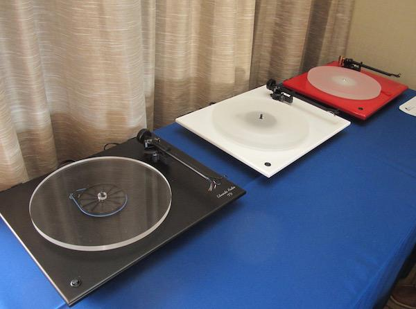 Edwards Audio Turntable Line Displayed at T.H.E. Show Newport 2016