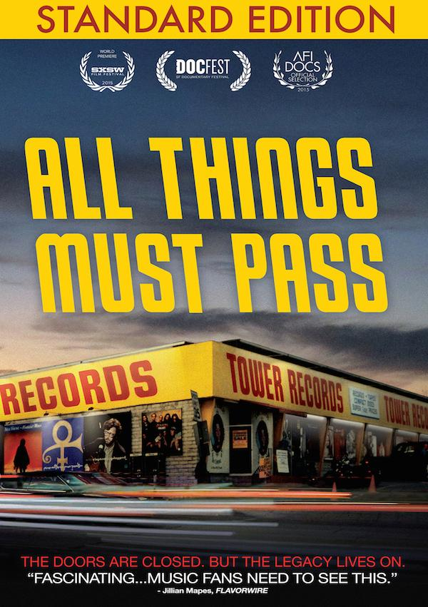 """""""All Things Must Pass"""" The Tower Records Story Coming to DVD September 13"""