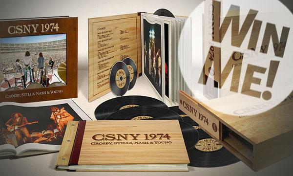 CSNY 1974 Limited Edition Vinyl Deluxe Box Set Sweepstakes
